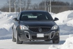 2015 Buick Regal GS AWD in Smoky Gray Metallic - Driving Frontal View